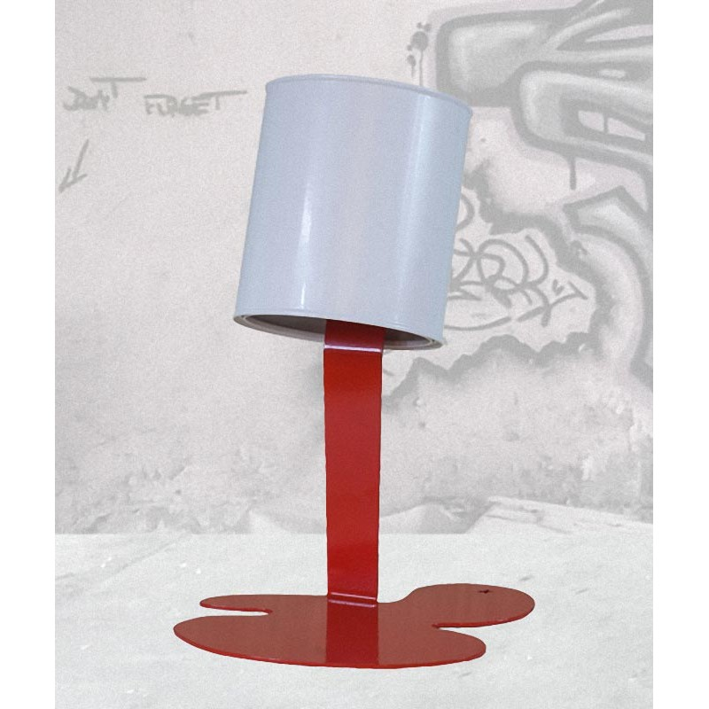 luminaires pots de peinture la collection oups. Black Bedroom Furniture Sets. Home Design Ideas