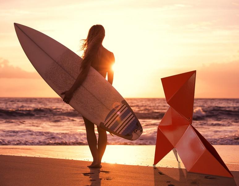Vacances avec Fanette l'Origami de Nathalie Be